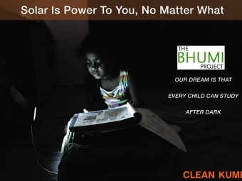 Photography project for Solar Lamps